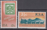 PP280 - SWA SOUTH AFRICA 1969 - STAGECOACH/MAIL/HORSES MNH