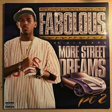 "Fabolous ""More Street Dreams PT 2 The Mix Tape"" 2003 Elektra Recs 2x12 LP EX"