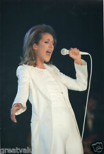CELINE DION PHOTO UNRELEASED 97 FAR EAST PRIVATE GIG UNIQUE STUNNING12INCH PHOTO