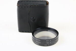 VIVITAR Close-Up Filterset No. 1, 2, 3 / Durchmesser 52mm