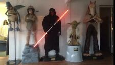 Life Size Star Wars Darth Maul Watto Jar Jar Anakin Yoda Full Size Statues Prop
