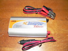 Wagan Tech AC Inverter 350W Continuous, 800W Peak Surge Power, 12V DC to 115V AC