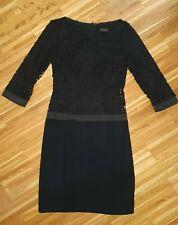 SELECTION by s.OLIVER elegantes Spitzenkleid Etuikleid Dress schwarz Gr.36 NEU