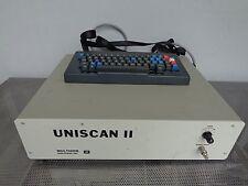 Multigon Uniscan II model 4600 FFT Sonogram Spectral Test Equipment w/keyboard