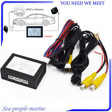 Car Front Rear Parking View Camera Switch 2 Channel Control Box Converter Sale (Fits: Greyhound)