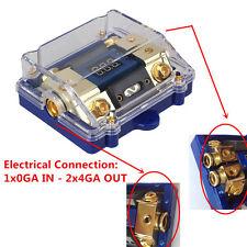 100 A 3-Way de potencia de Audio de coche soporte de fusible Pantalla LED de tensión eléctrica bloque