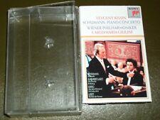 SCHUMANN PIANO CONCERTO<>KISSIN&GIULINI<> Audio Cassette ~ Canada TAPE° 1T1-8297