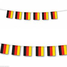 German Flag Bunting Germany Banner 10 Metres 20 Large Flags