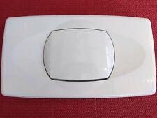 für LIV,  ISOSAN Nr.1 + Nr.2 Drückerplatte weiß,für Unterputz Spülkasten