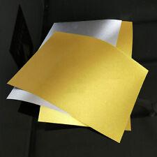 5 Pcs A4 Gold Printing Paper Matte Label Film for Inkjet Printer Sheet Supplies