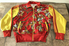 Ed Hardy Track Jacket Large? Mens Christian Audigier No Tag See Measurements