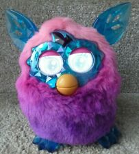 Furby Boom pink, purple crystal interactive pet, Hasbro 2012 *