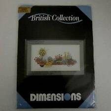 Dimensions British Collection Standard Rose Border Cross Stitch Kit Sealed 1021
