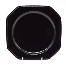 Retro 80s MIKASA Japan ENGLISH CHINTZ C6103 BLACK TEA Octagonal Saucer Plate AUS