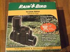 "Rain Bird In line valve 3/4"" key: watering hose sprinkler system garden Cp-075"