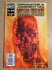 TERMINATOR 2 JUDGEMENT DAY NUCLEAR TWILIGHT #1 FIRST PRINT MALIBU COMICS (1995)