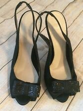 Women's Disney Black Sparkle DSW Heels Size 7.5 M