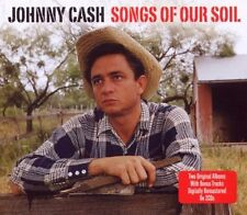 Johnny Cash - Songs of Our Soil [New CD] UK - Import