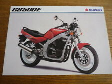 SUZUKI GS 500E MOTORBIKE BROCHURE,  1994  POST FREE (UK)