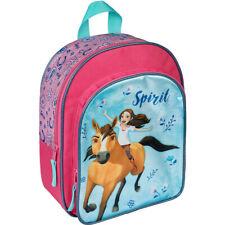 Spirit Rucksack mit Vortasche Kinderrucksack Vorschule Freizeit Pferd Pferde