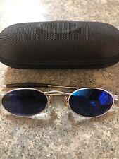 Oakley 00 49 o 20 Michael Jordans blue lens sunglasses vintage
