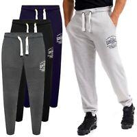 Mens Ex-Store Jogging Bottoms Fleece Joggers Sport Gym Pockets Tracksuit Light