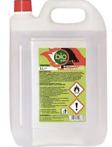 Bioetanolo combustibile stufe Bio Sprint 5 litri 99,9 % inodore no fumo zolfo