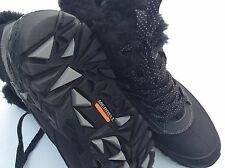 Merrell Women's Black & Gray Select Dry Fleece  Lined Snow Hiking Boots New 8.5