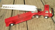 """Vintage Tonka Red Metal Fire Truck Rescue Ladder 11"""""""