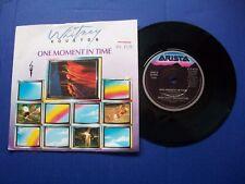 "WHITNEY HOUSTON - ONE MOMENT IN TIME UK 7"" 45 RPM VINYL SINGLE M-/EX"