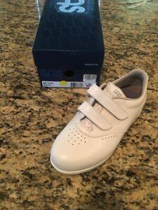 SAS Me Too White 7 Wide, Women's Sneaker