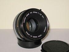 Canon 50mm f1.8 S.C. FD Breach Lock Lens. Clean.