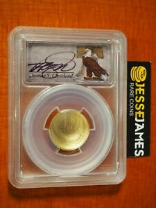 2014 W $5 GOLD BASEBALL COMMEMORATIVE PCGS MS70 CLEVELAND SIGNED BELL POP 2