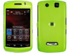 Neon Green Plastic Phone Protector Case Cover For BlackBerry Storm 9500 9530