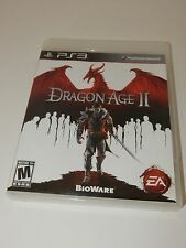 Dragon Age II (Sony PlayStation 3, 2011) **COMPLETE**