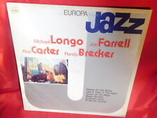 Michael Longo Joe Farrell, Ron Carter Randy Brecker Europa JAZZ LP 1982 ITALY M-