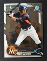 2016 Bowman Chrome Prospects #BCP27 John Norwood - NM-MT