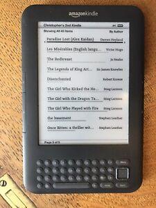 Amazon Kindle - 3rd Generation