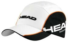 HEAD TOUR TEAM  FUNCTIONAL TENNIS CAP BLACK  AND WHITE with free postage