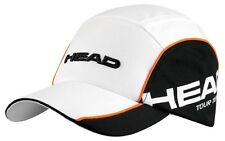 HEAD TOUR TEAM funzionale Tennis Cappello Nero e Bianco con spedizione gratuita