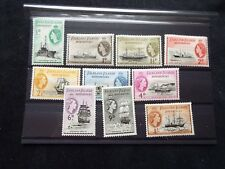Falkland Island Dependencies: 1952-64 Definitive set to 1/- mounted mint