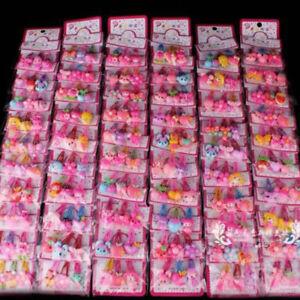 Lovely Cartoon Baby Kids Girls Hair Pin 20pcs/Sets Mixed Barrette Hair Clips