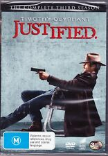 Timothy Olyphant ~~Justified~~ : Season 3  New/Sealed Genuine R4 Free Post
