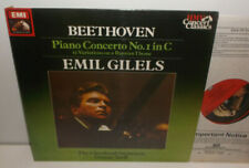 SXLP 30540 Beethoven Piano Concerto No.1 Emil Gilels Cleveland Orchestra Szell