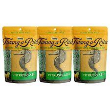 Twang-a-Rita Citrus Splash Lemon-Lime Flavored Cocktail Rimming Salt - 3pk