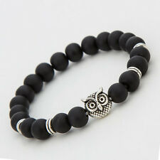 Chic Chakra Healing Beaded Bracelet Natural Lava Stone Diffuser Bracelet Jewelry