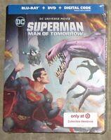 Superman:  Man of Tomorrow Target Exclusive SteelBook Blu-ray+DVD+Digital