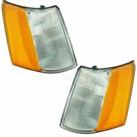 Corner Parking Turn Signal Light Left & Right Pair Set for 93-98 Grand Cherokee
