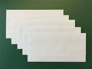 Briefumschläge Umschlag Brief DIN lang 110 x 220mm selbstklebend ohne Fenster
