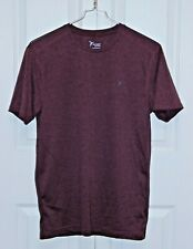 Old Navy Active Go-Dry Mens Size Small Burgundy Short  00004000 Sleeve